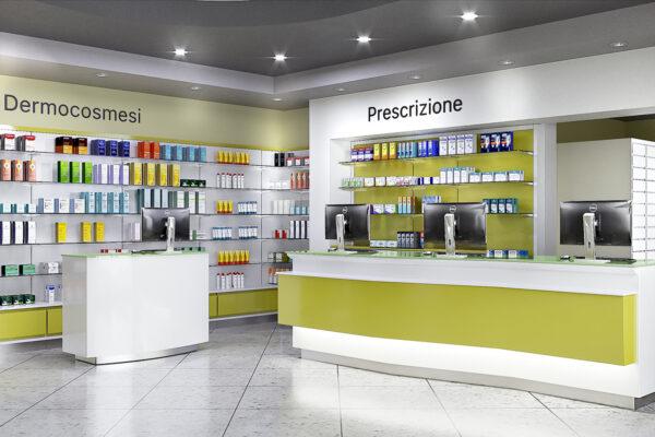 Arredamento Farmacia Alessandrì Esposito