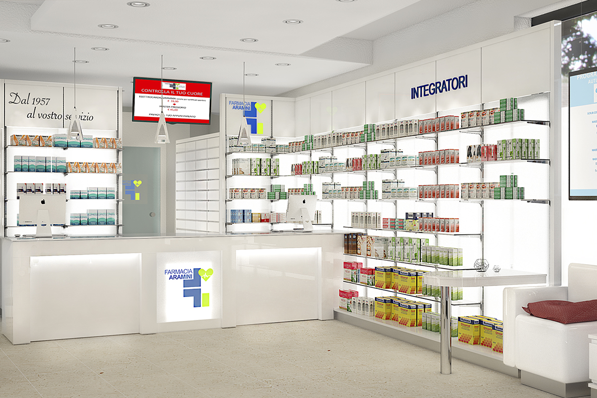 Arredo Farmacia Aramini