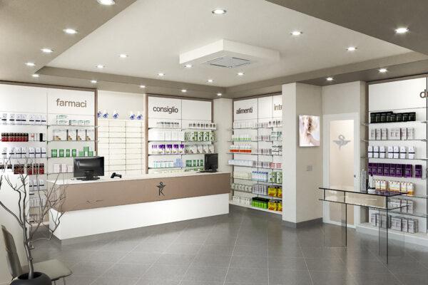 Nuova Apertura Arredo Farmacia San Giorgio Capriolo