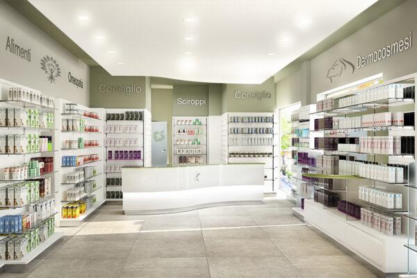 Restyling Arredo Farmacia Benigni Ancona