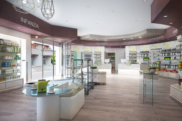 Arredamento Farmacia Contemporanea Farcom Brescia