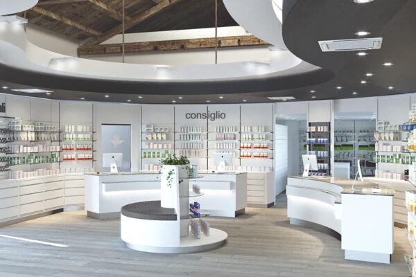 Nuova apertura Arredamento Farmacia Reale