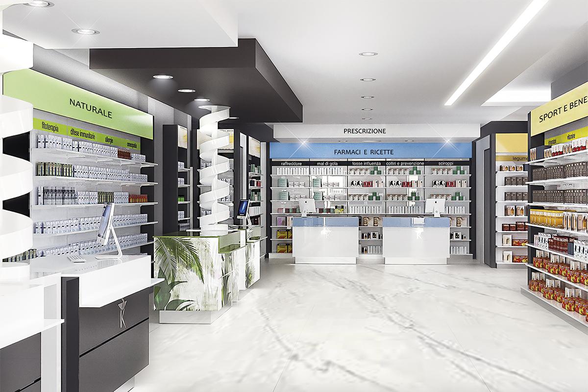 Progetto Arredamento Farmacia Dott. Luciani