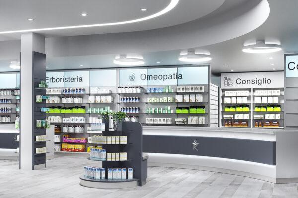 Nuova Apertura Arredamento Farmacia Luciano