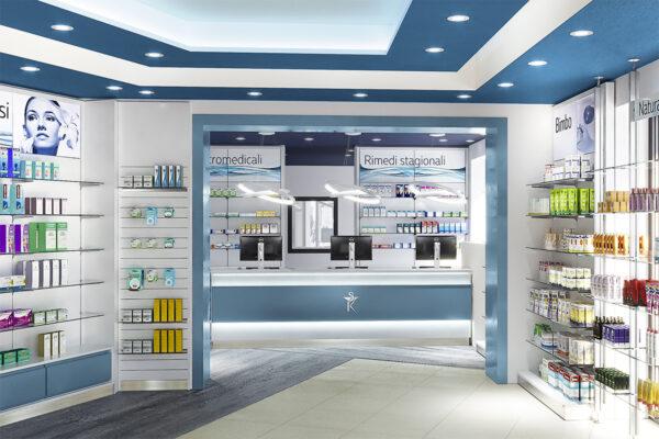 Restyling Arredamento Farmacia Marcelli