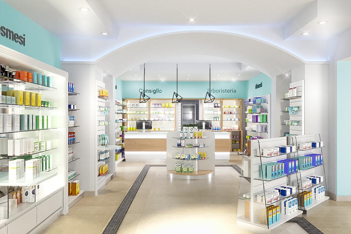 Rinnovo Arredo Farmacia di Pozzuolo