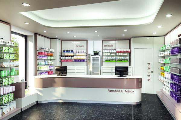 Arredamento Farmacia San Marco Modena