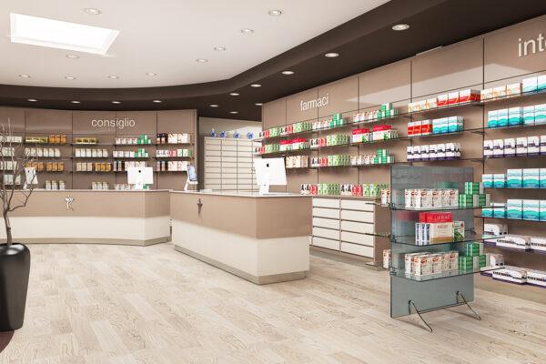 Arredamento Farmacia San Vitale Dott. Semenza