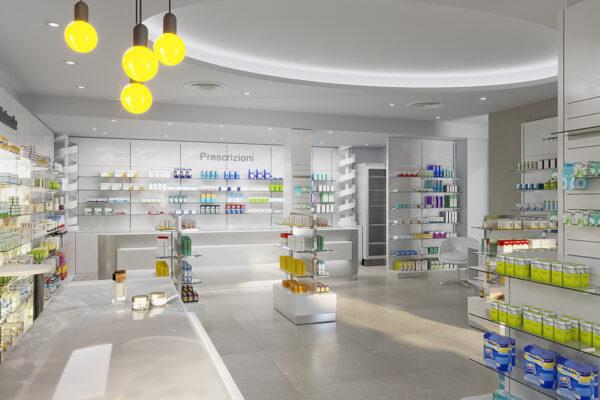 Arredamento Farmacia Le Sorgenti Dott. Taglierani