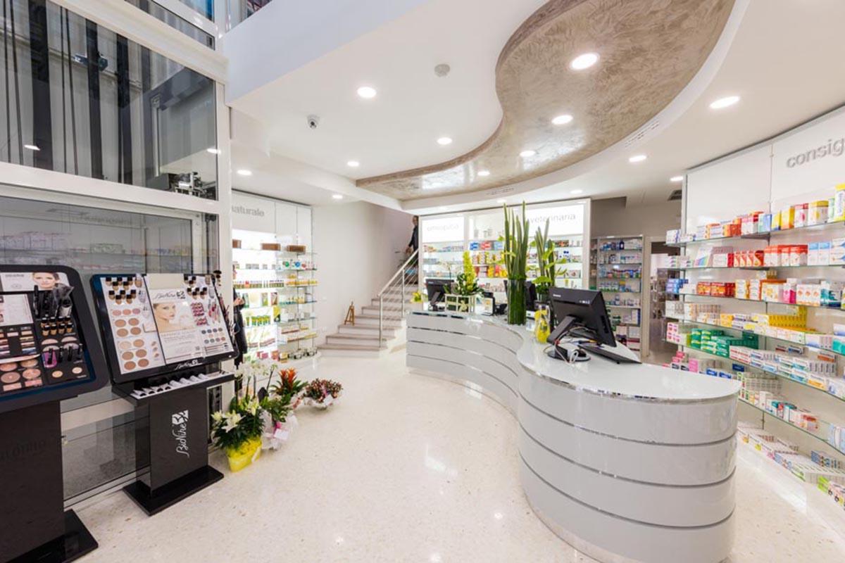 Ristrutturazione Arredamento Farmacia Ghidini