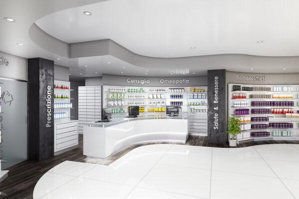 Nuova Apertura Arredamento Farmacia Del Mare Castelfusano
