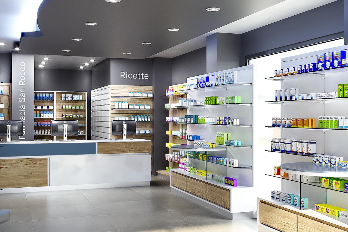Progetto Ristrutturazione Farmacia Cuneo