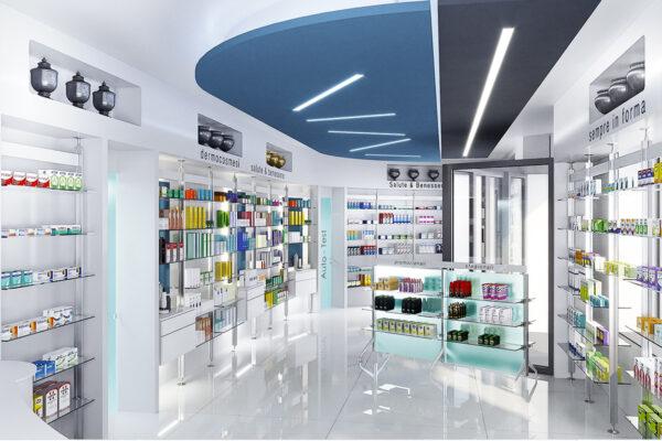Ristrutturazione Arredamento Farmacia Genova Milano