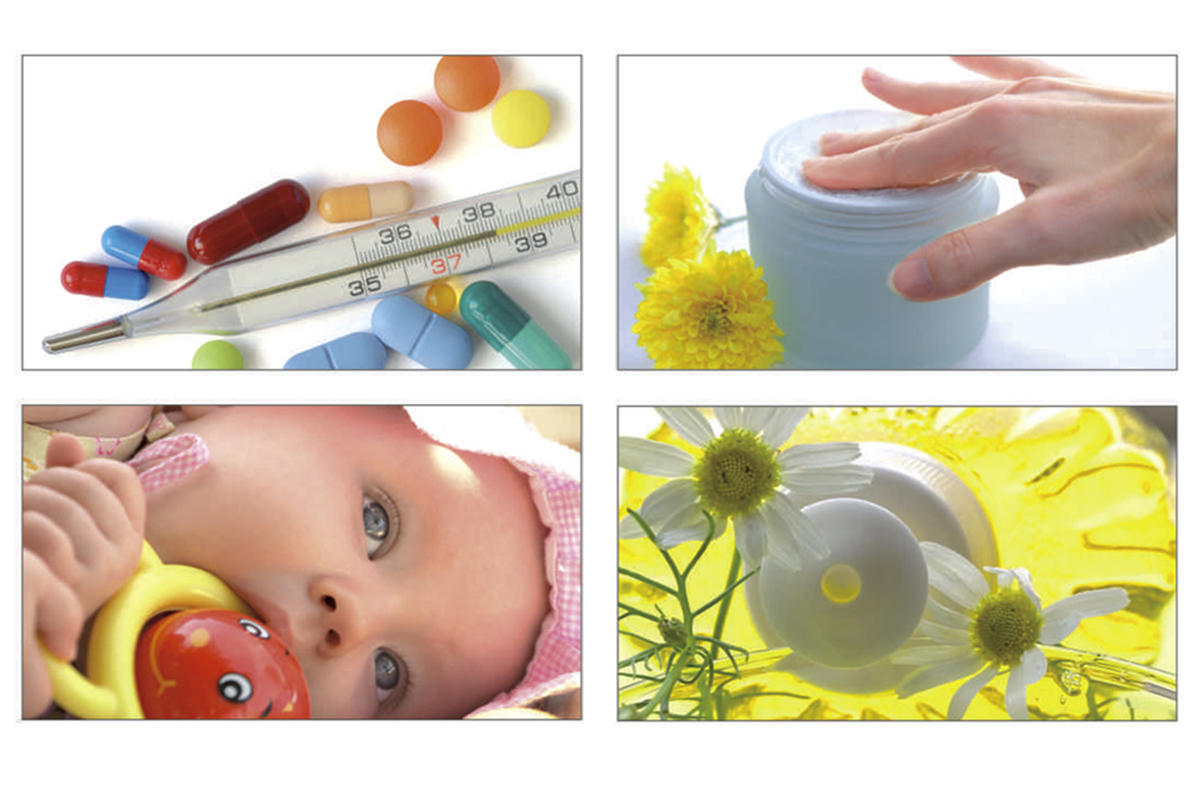 Visual merchandising in farmacia