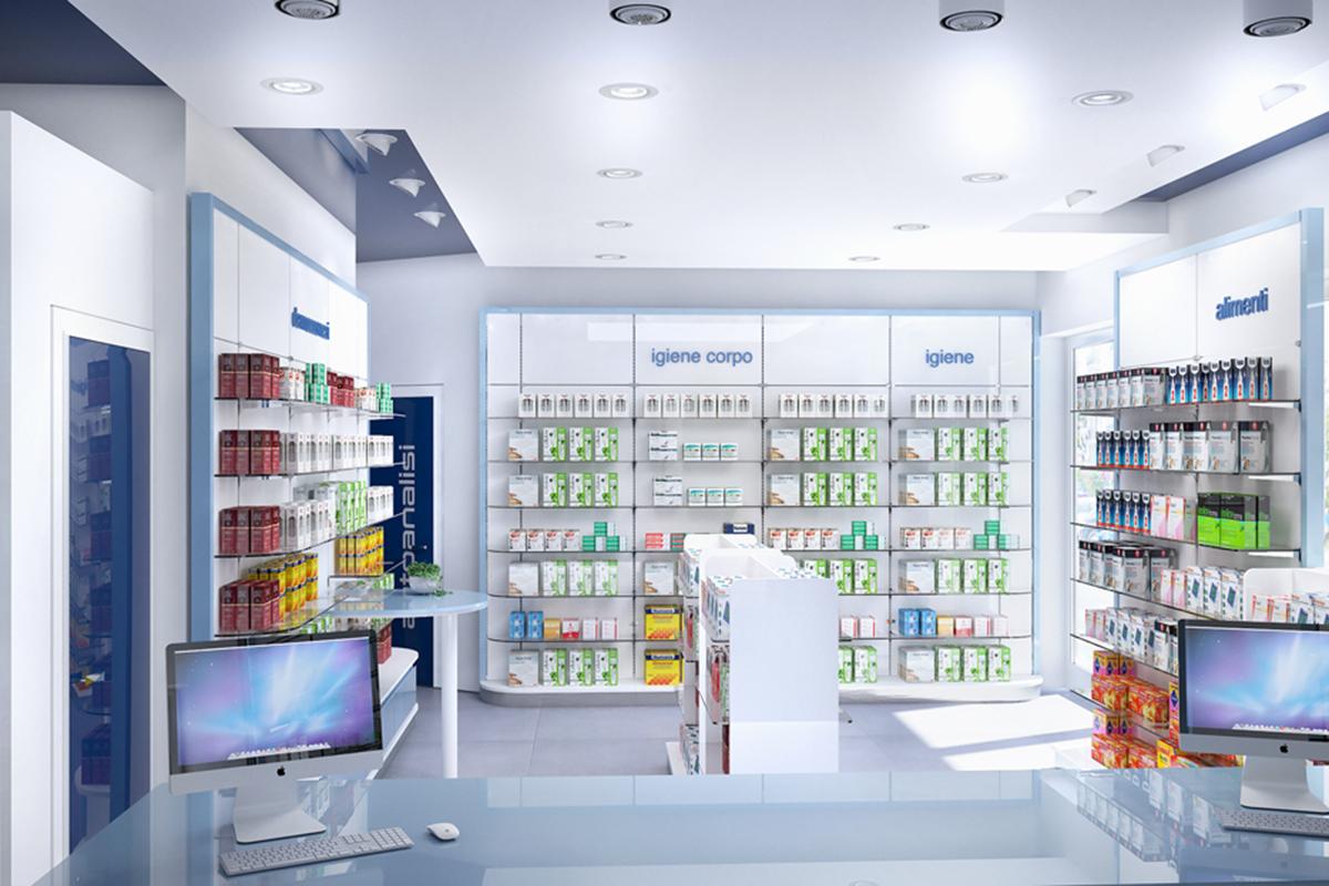 Render di progetto farmacia