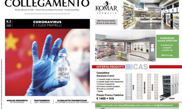 Afk-Komar Arredamenti Farmacie sul numero di Marzo di Nuovo Collegamento