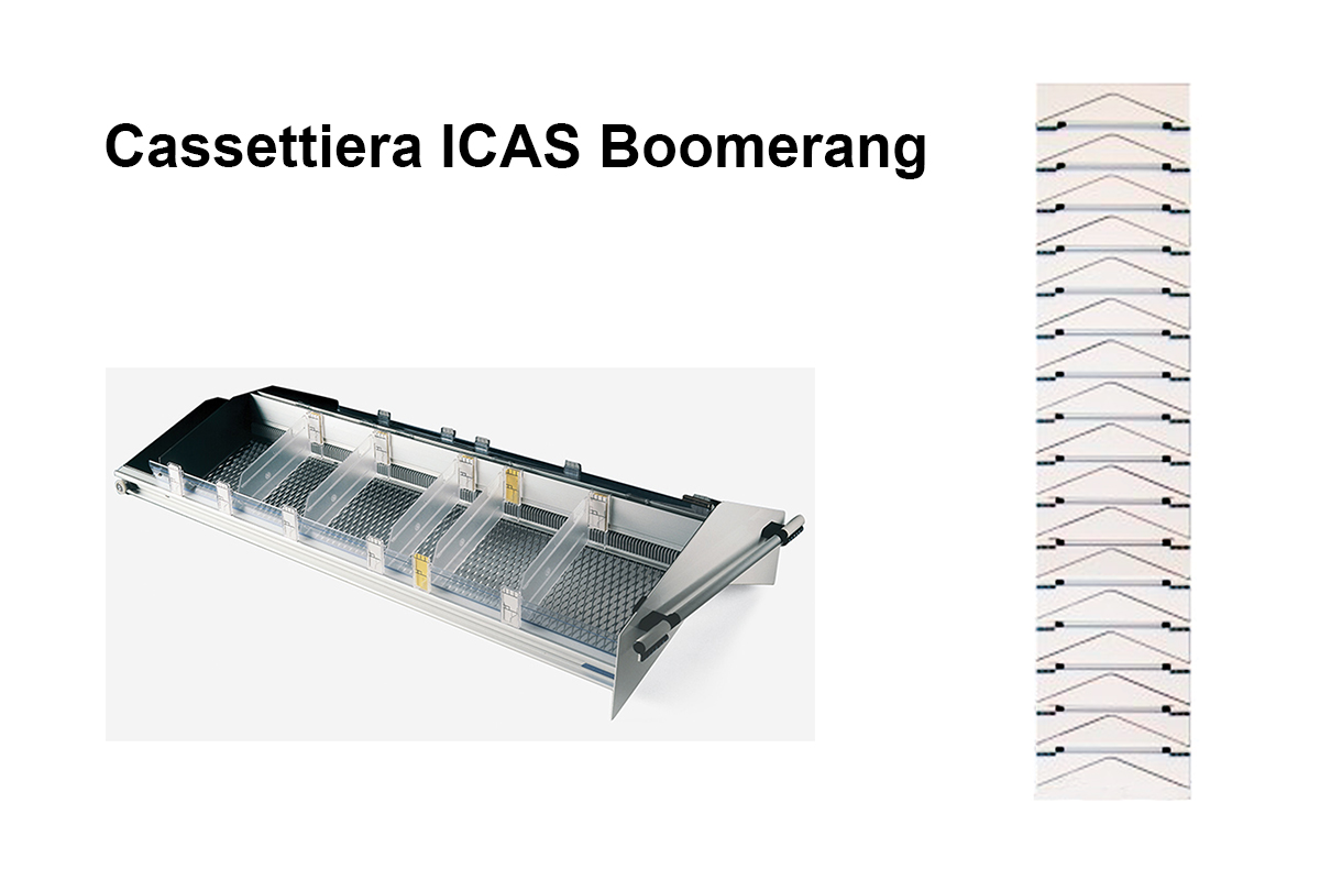 Cassettiera Boomerang ICAS