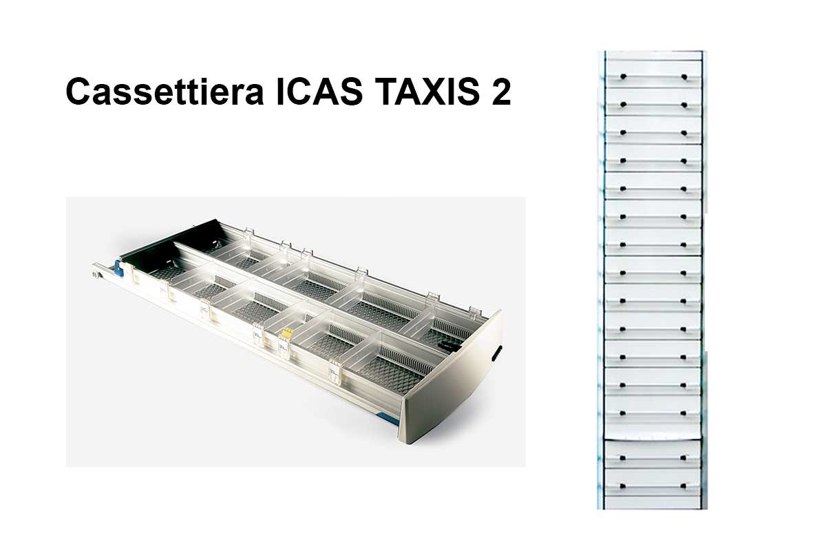 Cassettiera ICAS Taxis 2