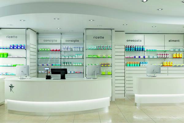 Ristrutturazione Farmacia Dott.ssa Minghini