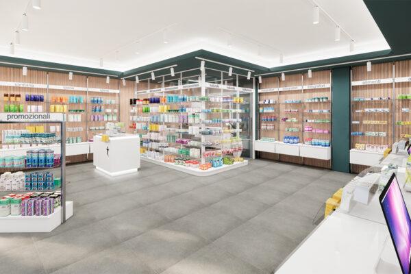 Ristrutturazione Arredamento Farmacia Ferrara